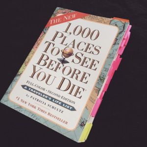 Thousand places to see before you die