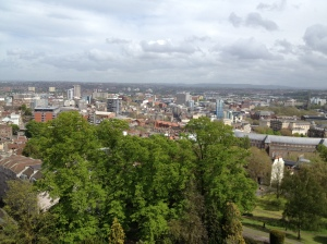 From Cabot Tower