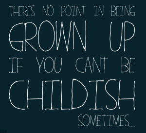 Being a grown-up